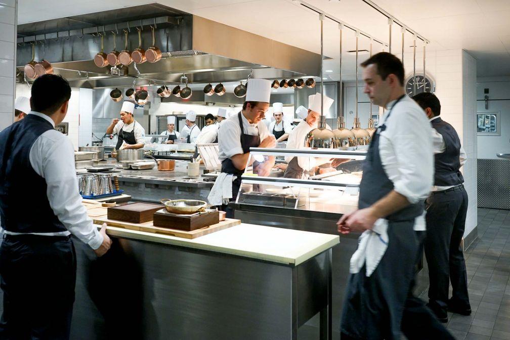Interlude dans les cuisines du restaurant © YONDER.fr