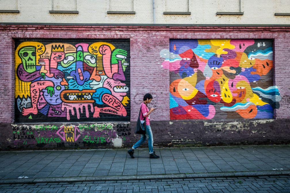 Gand, ville qui compte pour le mouvement Street Art © VisitGent
