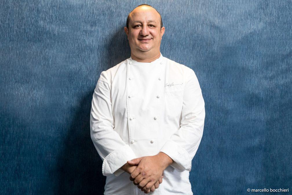 Ciccio Sultano n'est pas que l'un des meilleurs chefs de l'île. Il est aussi l'un des porte-paroles de la nouvelle scène culinaire sicilienne © Marcello Bocchieri