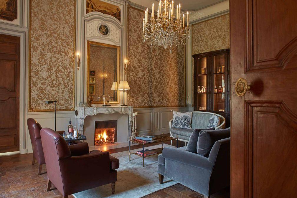 Atmosphère cosy et intimiste au Bar du Château © DR