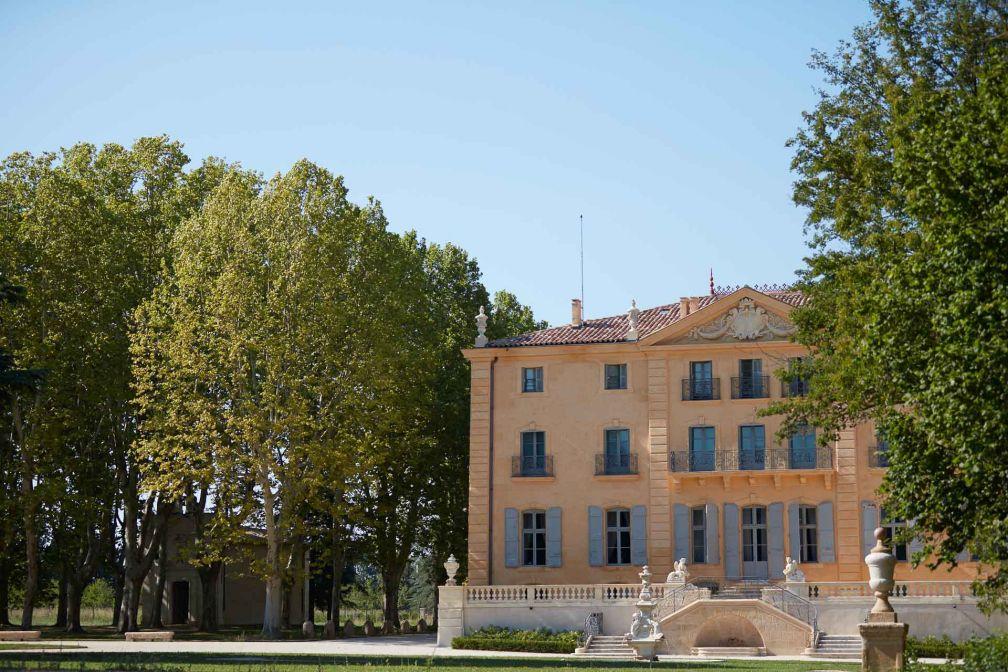 Strictement privé jusqu'à l'été 2017, le Château de Fonscolombe, classé monument historique est désormais un hôtel 5-étoiles © DR