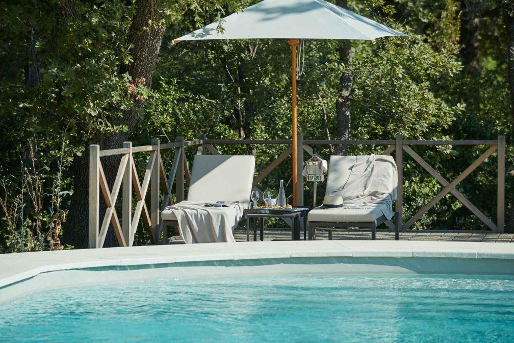 La piscine, pendant les mois d'été © DR
