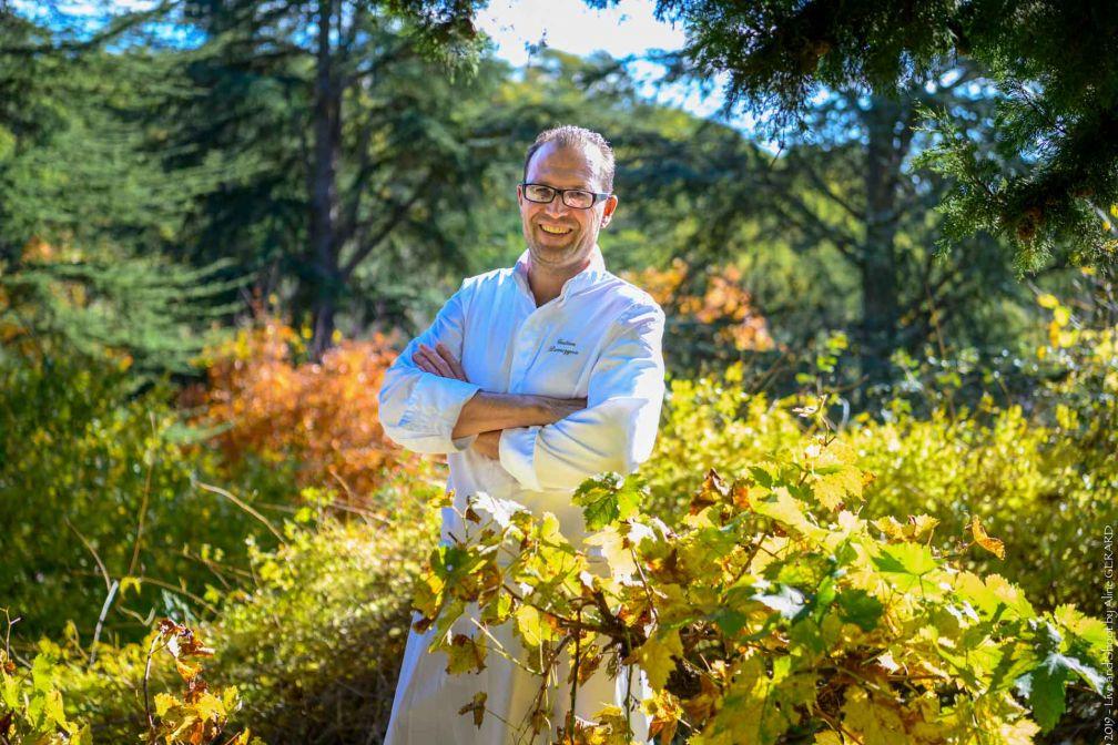 Le chef Gatien Demszyna, nouveau derrière les fourneaux du Couvent des Minimes en Provence © DR