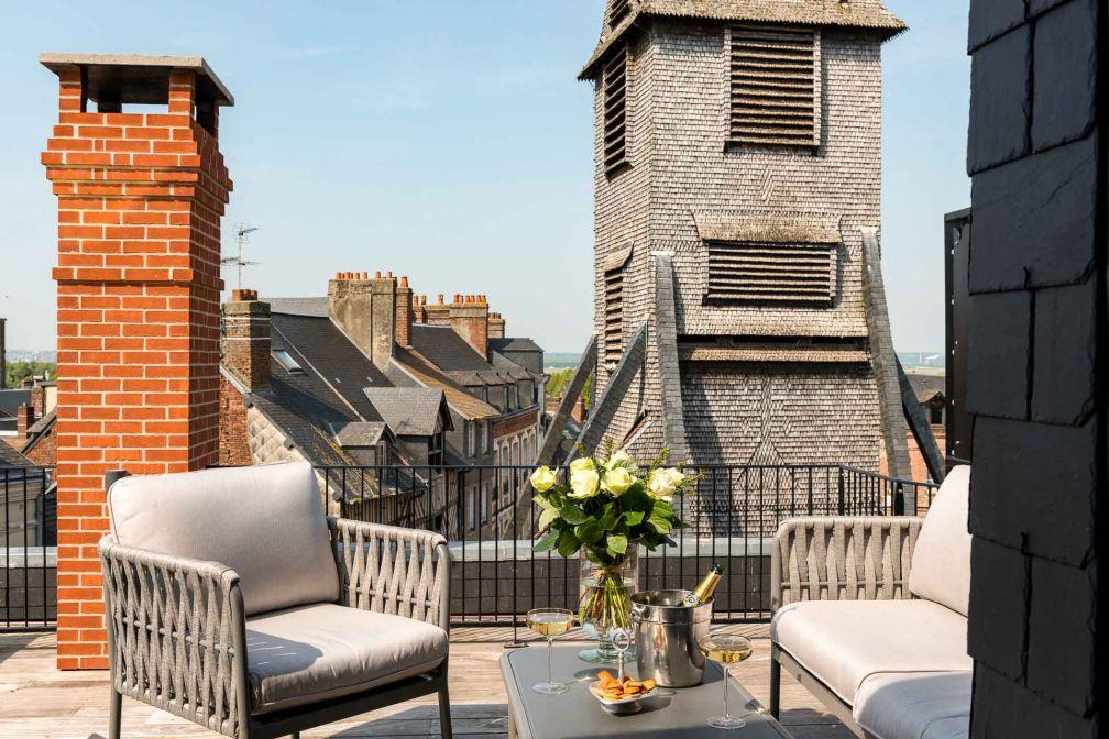 Les Maisons de Léa, un hôtel de charme en plein centre d'Honfleur © David Emmanuel Cohen