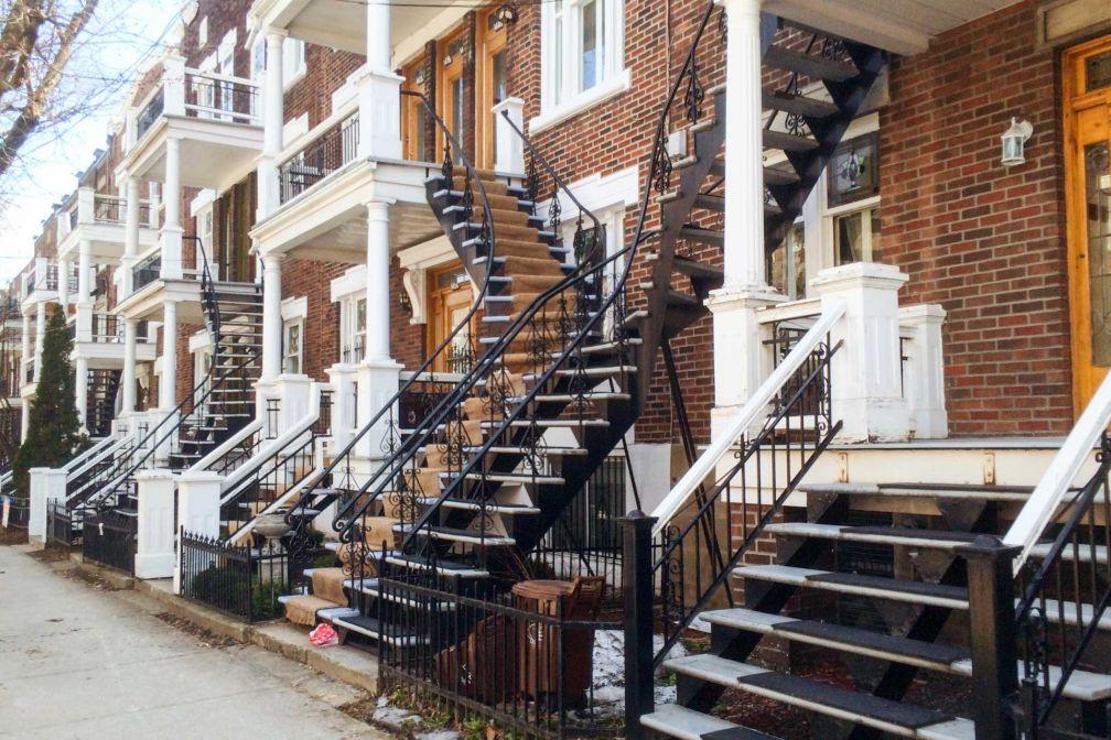 Les escaliers extérieurs, symbole numéro un de la métropole © Pierre Gunther
