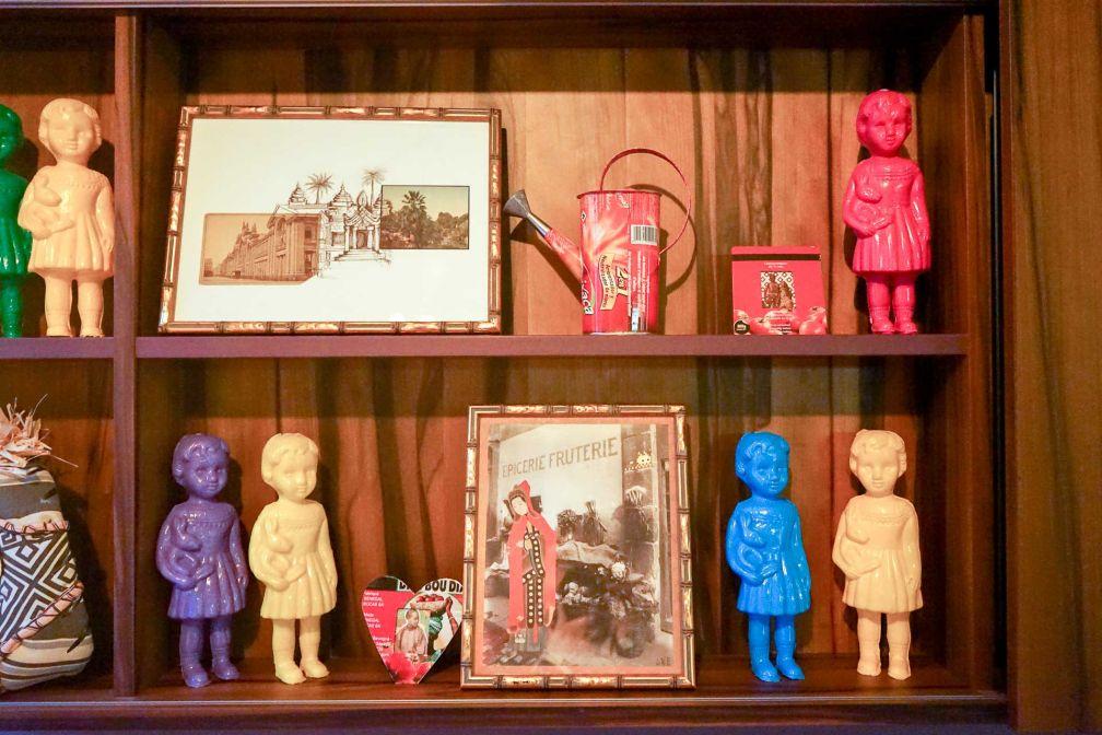 25hours Hotel Terminus Nord : Détails de décoration dans une chambre © YONDER.fr