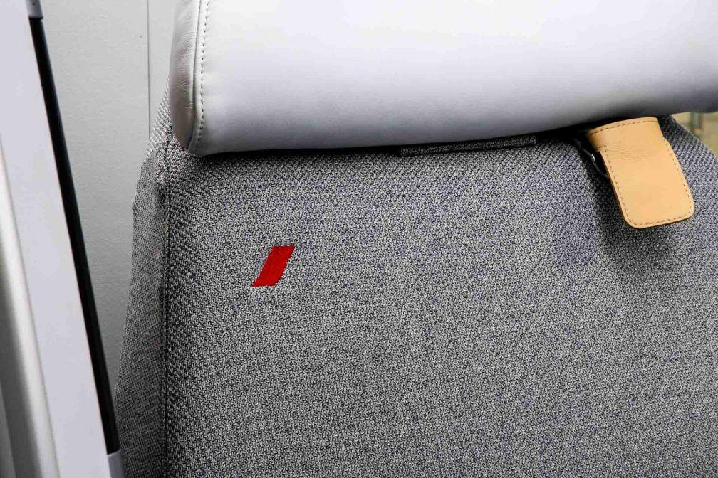 Le design des nouveaux sièges, aux couleurs d'Air France © DR
