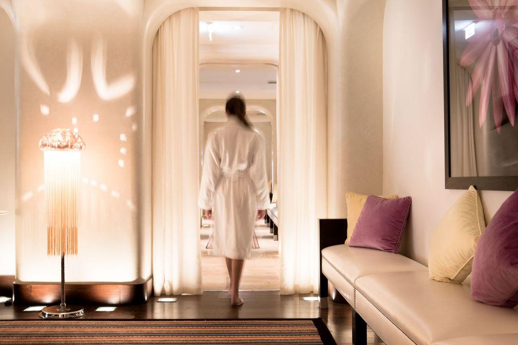 L'offre Wellness est l'un des atouts majeurs de La Réserve Genève, dotée d'un Spa de 1,850 mètres carrés © G. Gardette