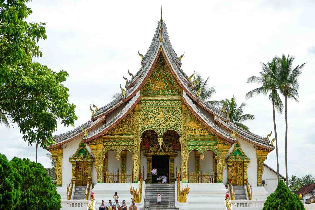 La chapelle Haw Pha Bang, dans l'enceinte de l'ancien Palais Royal de Luang Prabang © YONDER.fr