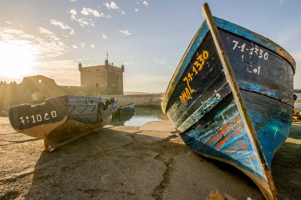 Coucher de soleil sur Essaouira © DR