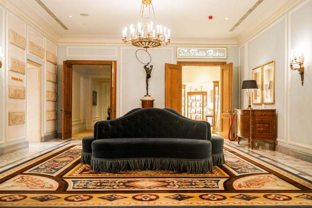 Toutes les parties communes de l'établissement sont très luxueuses © YONDER.fr