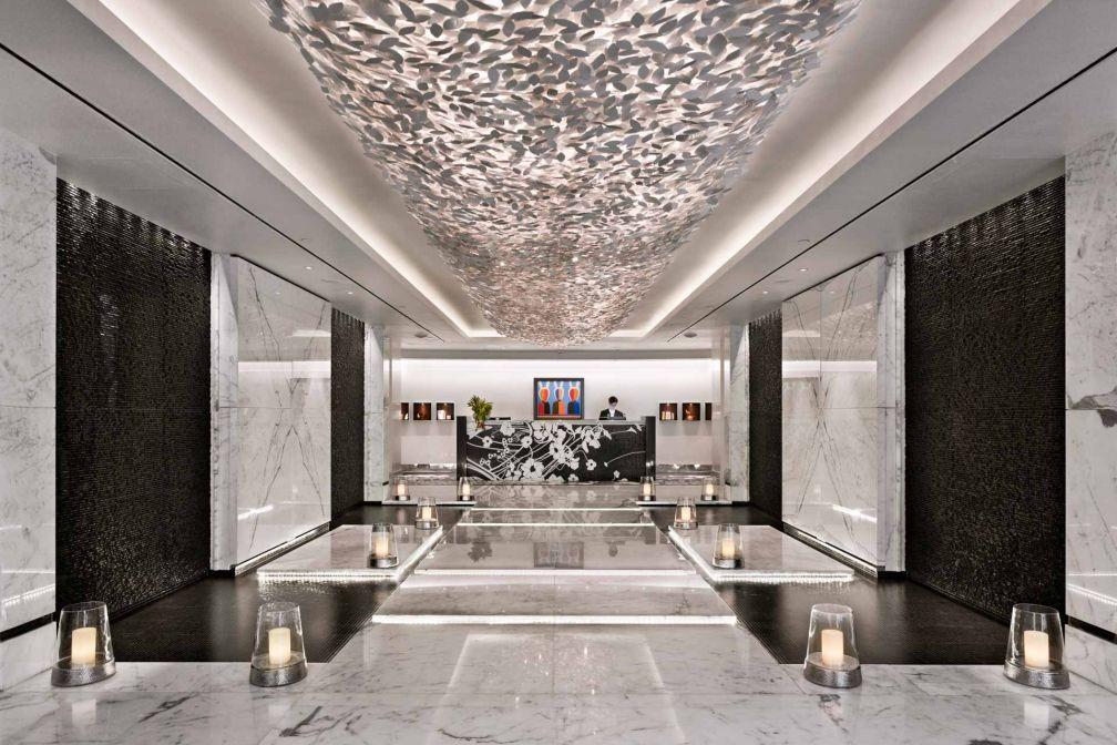 Bienvenue à l'Amnis Spa, le plus vaste et le plus luxueux des spas moscovites © Four Seasons