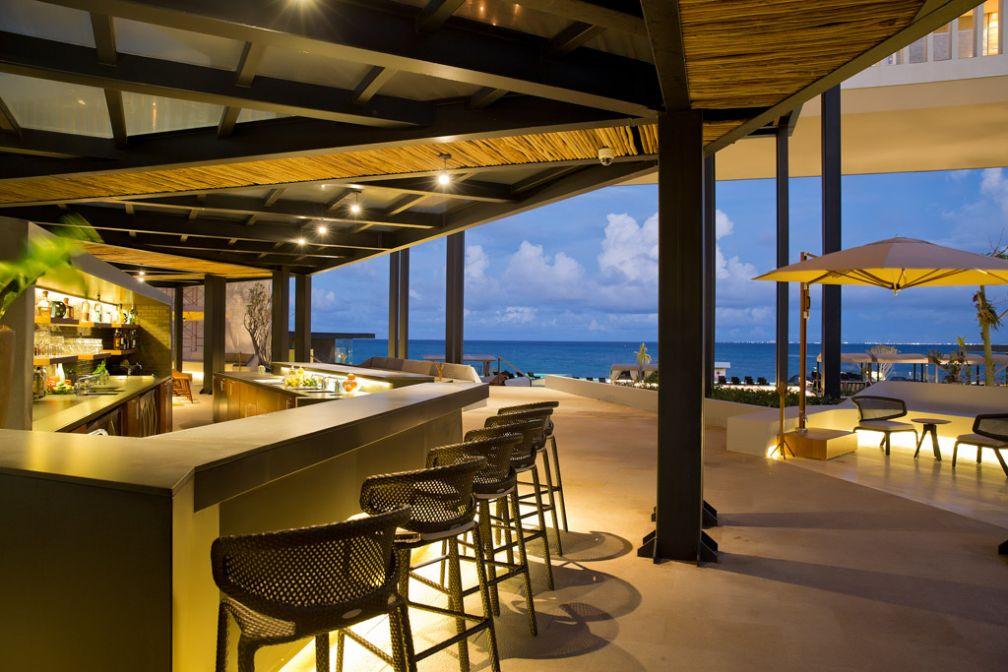 Spécificité de l'hôtel, son architecture ouverte © Grand Hyatt Playa del Carmen