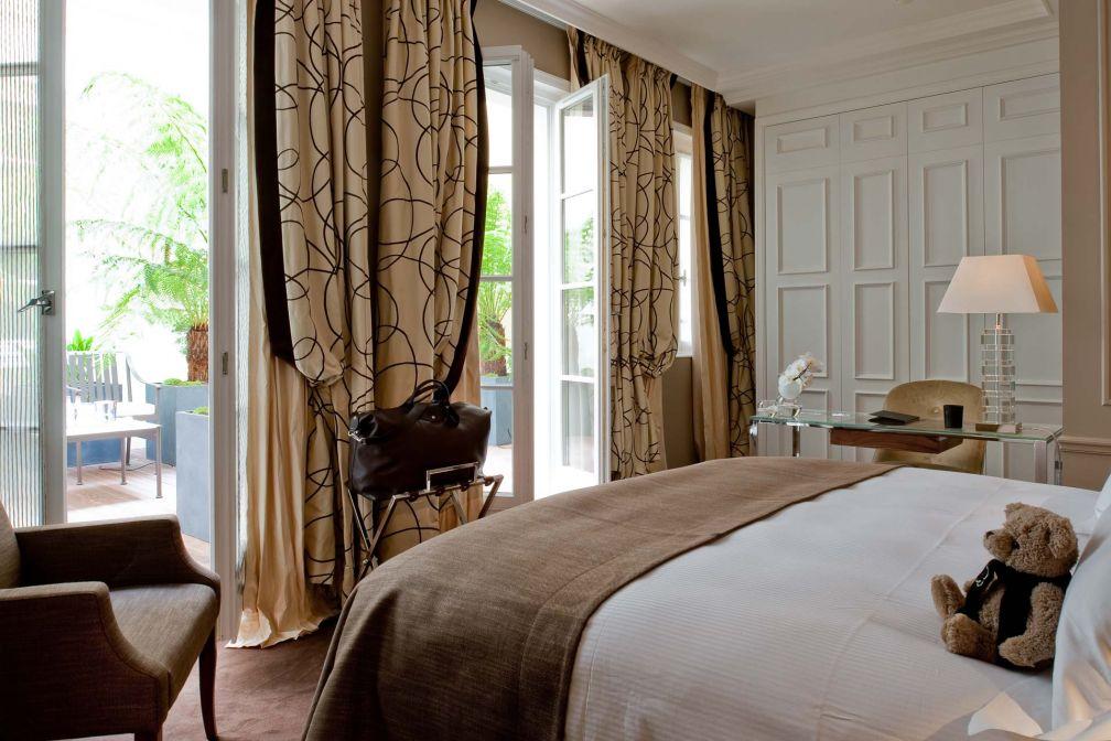 Une superbe Chambre Classique avec terrasse © Le Burgundy