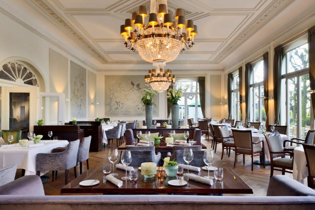 Le Jacobs est le restaurant gastronomique de l'hôtel dirigé par le chef Thomas Martin. Le Guide Michelin lui a attribué deux étoiles © Hotel Louis C. Jacob