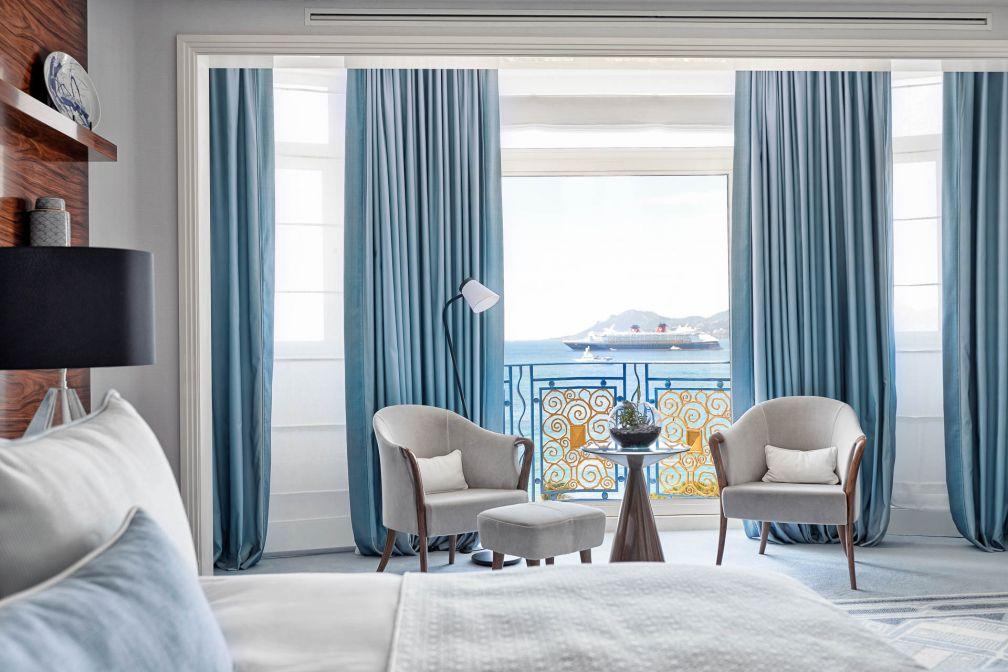 À l'intérieur d'une Suite Prestige avec vue sur la Méditerranée © JF Romero