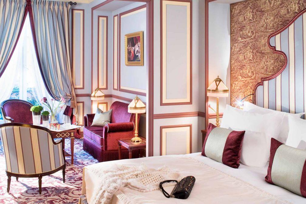 Les Junior Suites offrent le meilleur rapport expérience / luxe / prix de l'établissement © Alain Caboche
