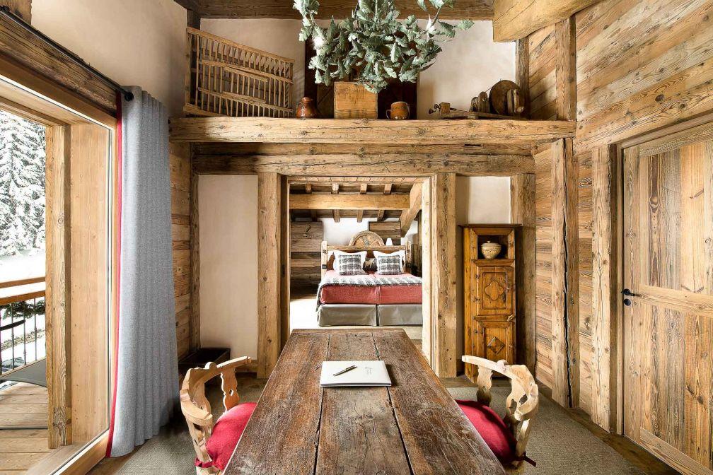 La Bouitte est également un hôtel intimiste membre des Relais & Châteaux. Ici, la Suite Marie © DR