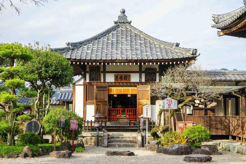 Le temple Asuka-dera est réputé être le plus ancien temple bouddhiste du Japon © YONDER.fr