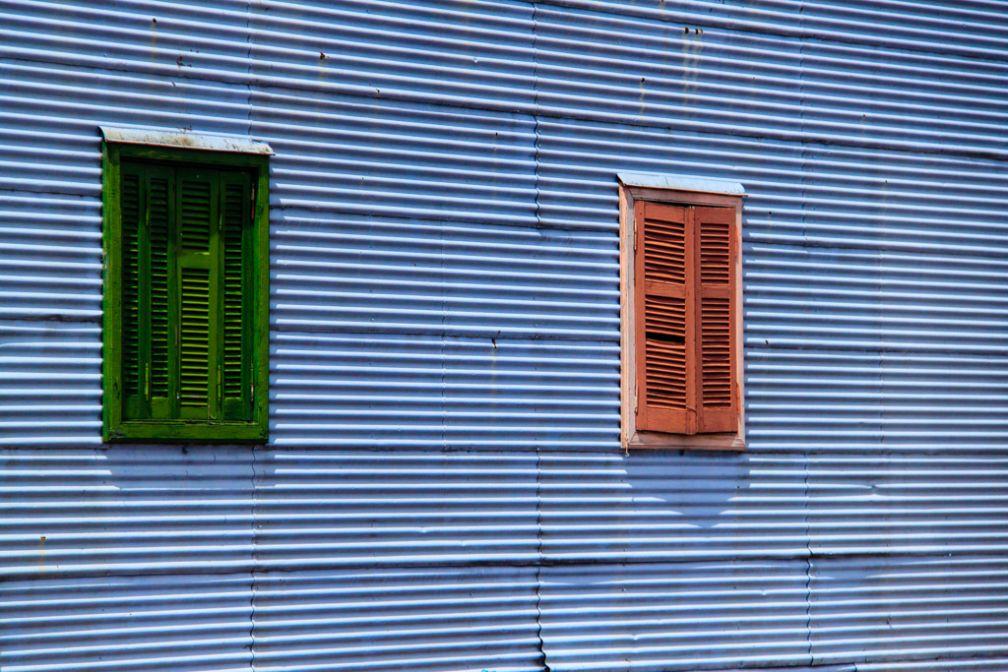 Fenêtres colorées – Quartier de la Boca | © Cédric Aubert