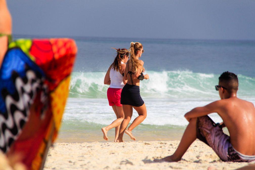 Running sur la plage d'Ipanema | © Cédric Aubert