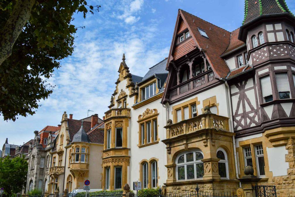 La Neue Stadt germanique Avenue Foch © Pierre Gunther