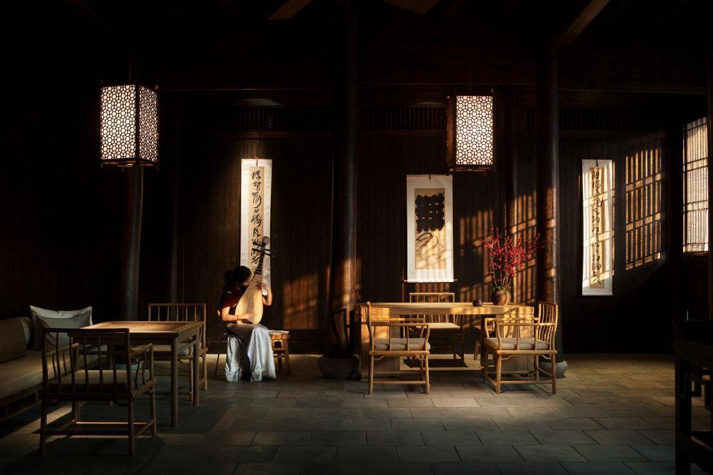 ...où que de la musique traditionnelle chinoise est jouée © Aman