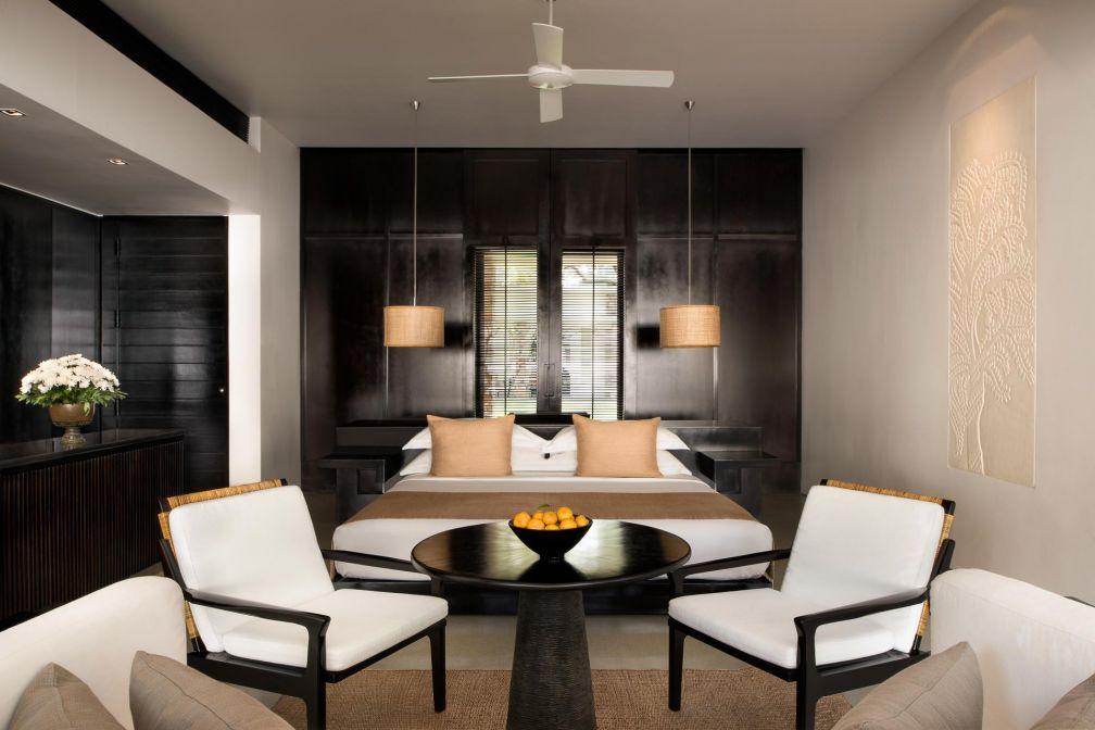 Intérieurs contemporains chiquissimes à l'intérieur des suites © Aman