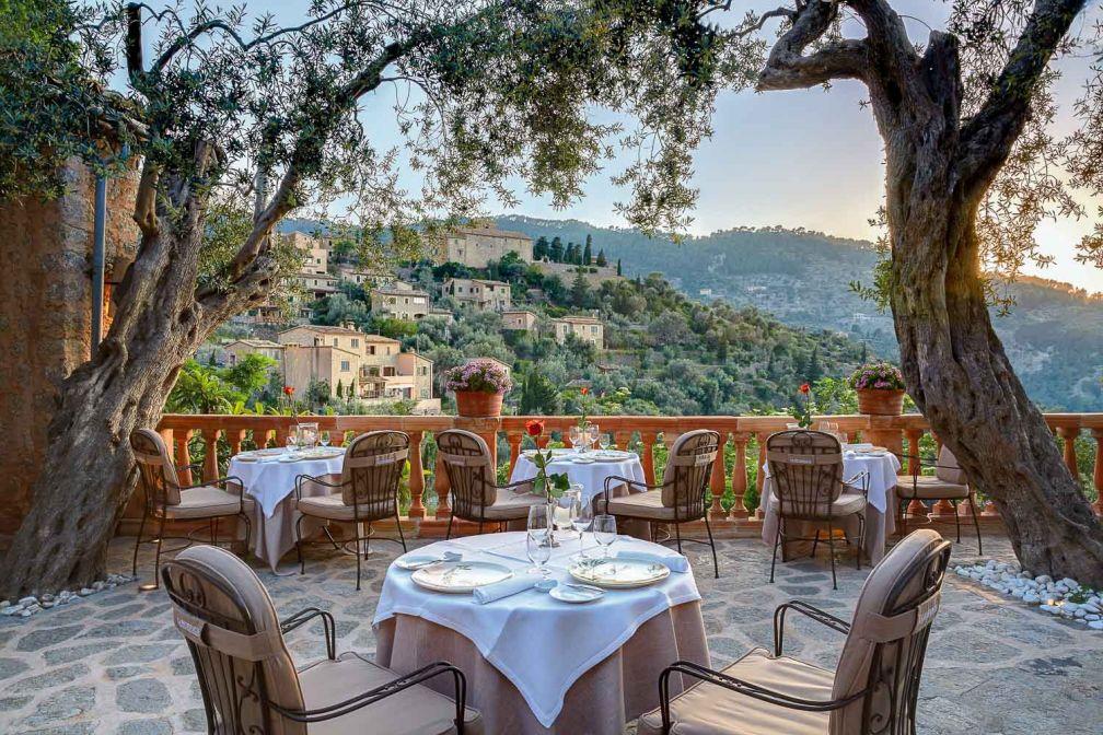Le restaurant gastronomique El Olivo dispose d'une terrasse somptueuse © Belmond