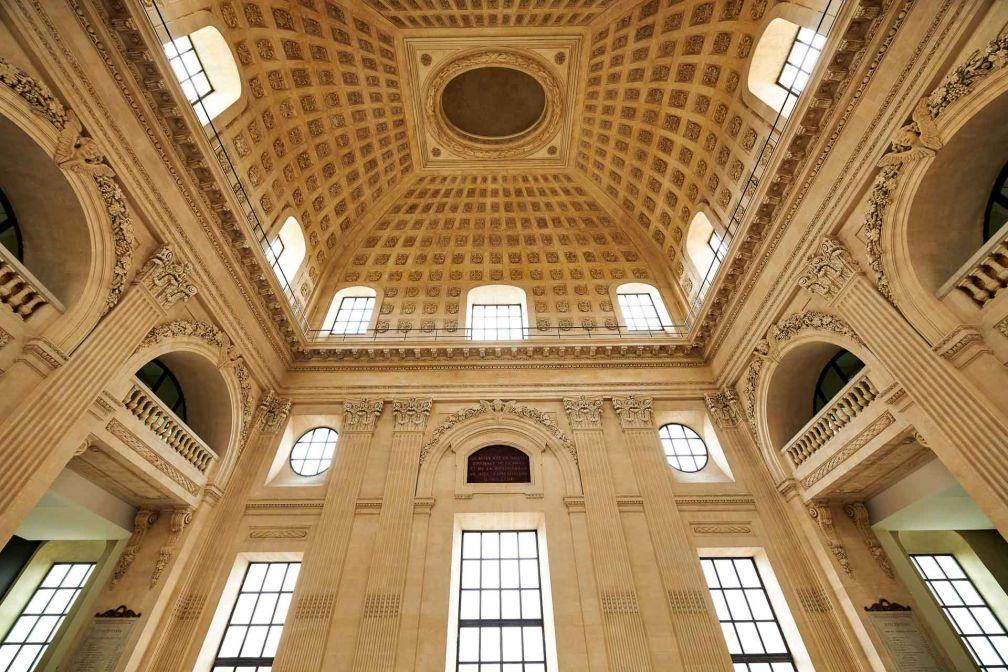 Le Grand Dôme, pensé par Jean-Germain Soufflot au XVIIIème, est le joyau architectural du Grand Hôtel-Dieu © Eric Cuvillier