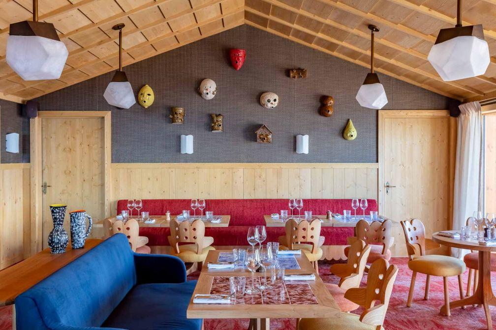 Comme au Lou Pinet à Saint-Tropez, la famille Pariente a fait appel au concept Beefbar pour le principal restaurant de l'hôtel © Jérôme Galland