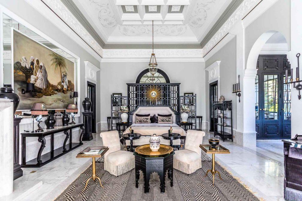 Les intérieurs de l'hôtel, et les chambres et suites en particulier, sont très richement décorées © Philippe Doignon