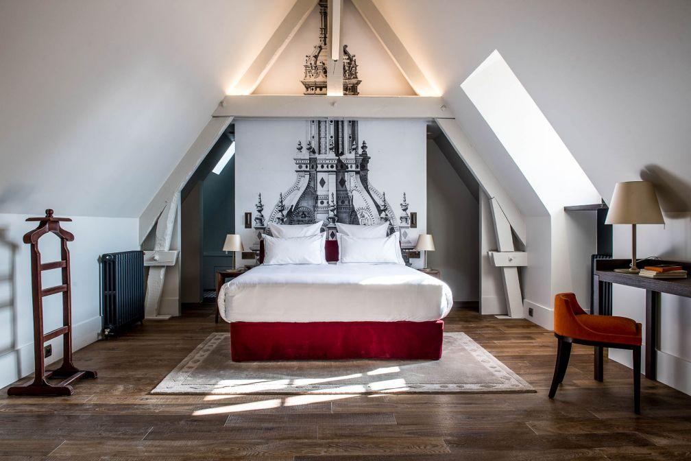 La Suite 202 est l'une des plus vastes et les plus charmantes de l'hôtel © Anne-Emmanuelle THION
