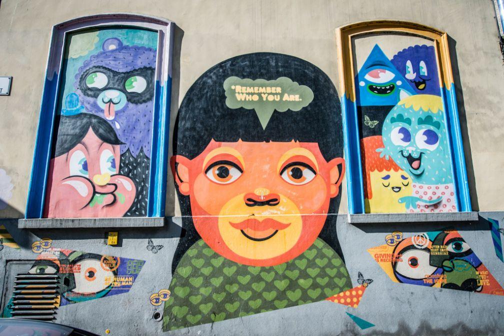 Gand est aussi le paradis des artistes de street art © VisitGent
