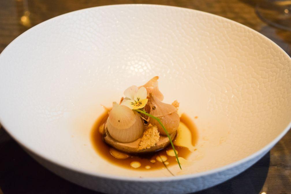 Chez 't Zilte, au dernier étage du MAS, le chef Viki Geunes propose une cuisine d'une rare sophistication © Yonder.fr