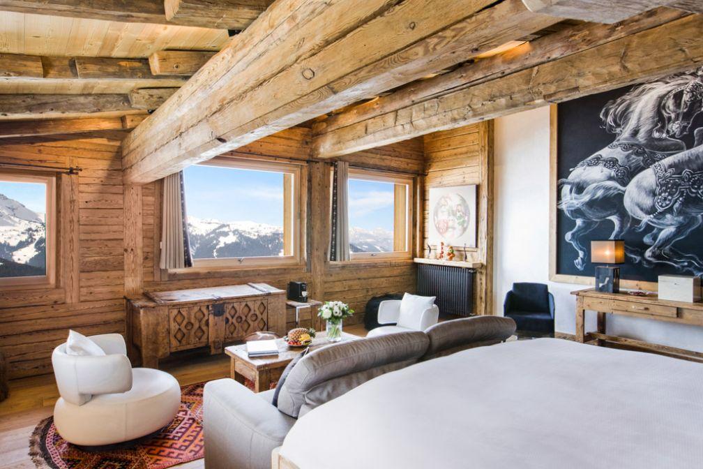 La Suite Idéal : l'expérience montagnarde ultime proposée par le Chalet du Mont d'Arbois © LBrandjas