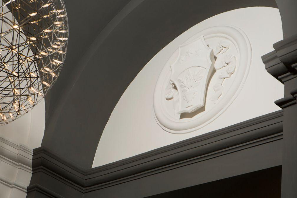 Les parties communes rappellent que Corso 281 est installé dans un ancien hôtel particulier © Corso 281