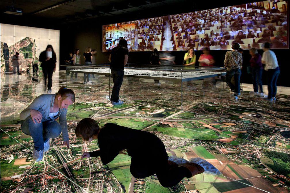 Salle ultra moderne dans le Musée de la ville, le STAM © VisitGent