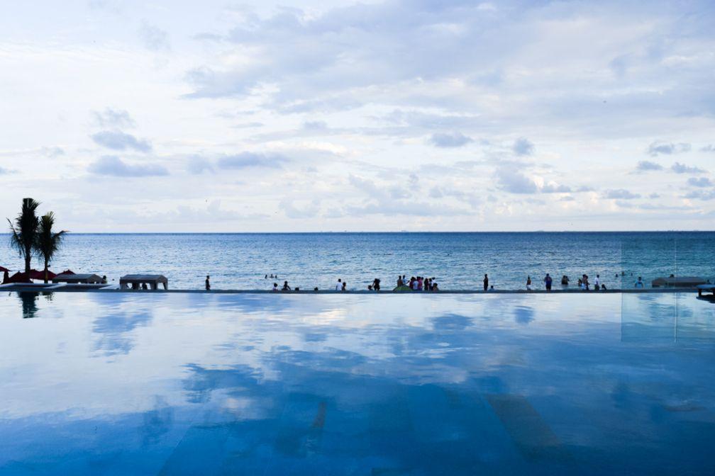 Le Grand Hyatt Playa del Carmen dispose de plusieurs infinity pools © Grand Hyatt Playa del Carmen