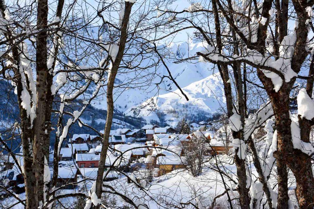 Vue sur le Hameau de Saint-Marcel à Saint-Martin de Belleville où est située La Bouitte © Emmanuel Laveran