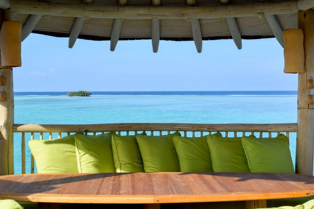 Terrasse avec vue dans notre villa © YONDER.fr