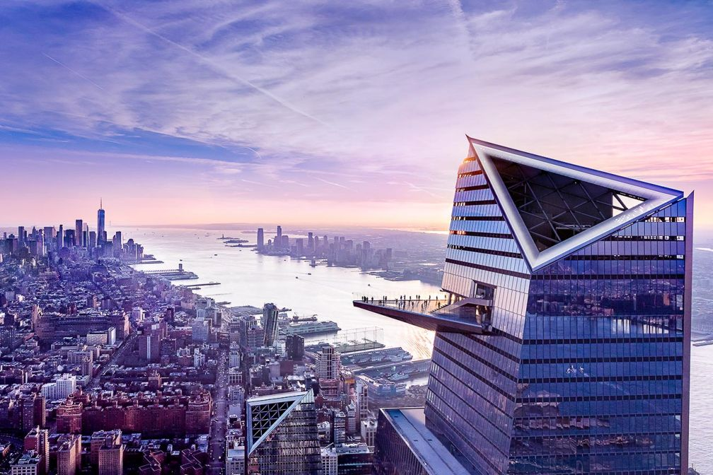 À 345m de hauteur, Edge est la plus haute plateforme d'observation extérieure de New York © Courtesy of Related-Oxford