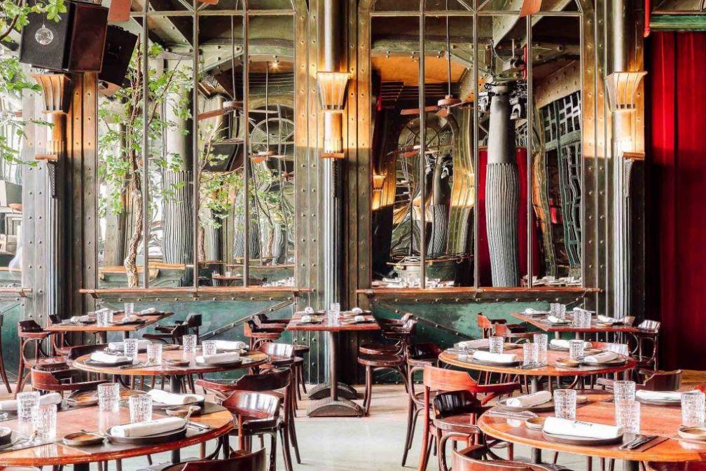 Basque, le deuxième restaurant du chef Eneko Atxa à Lisbonne. © DR