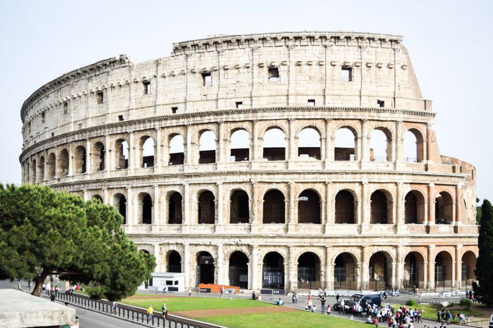 Le Colisée, lieu de passage incontournable de toute visite à Rome © Yonder.fr