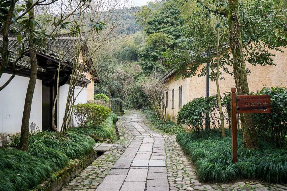 L'Amanfayun a pris possession d'un village historique non loin d'Hangzhou © YONDER.fr