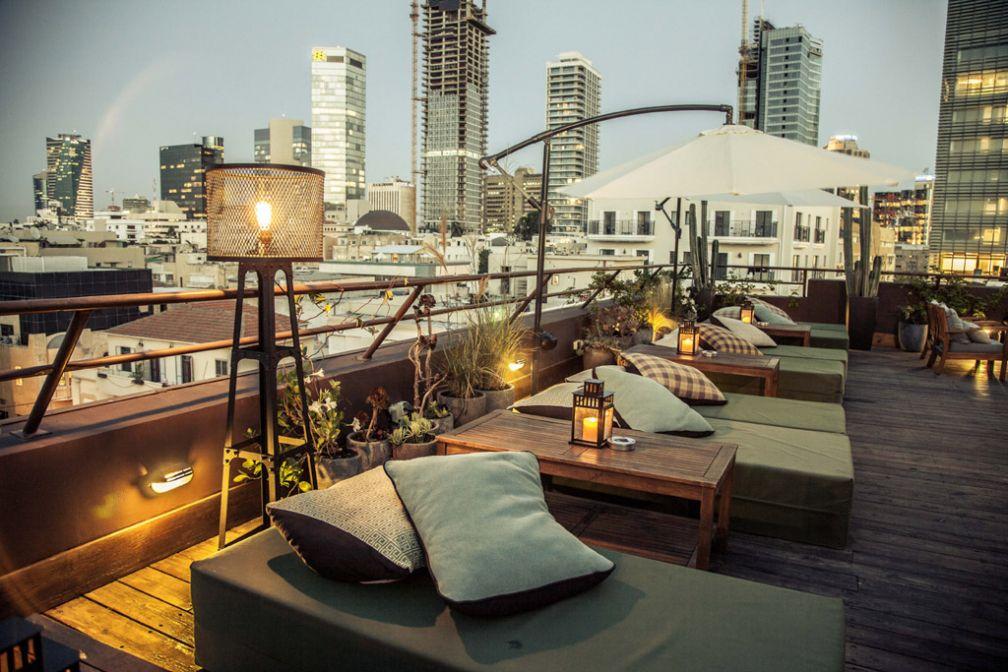 Rooftop et design au Brown TLV Urban Hotel, une adresse nettement plus abordable © Brown TLV