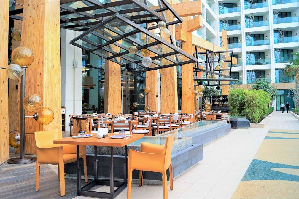 La terrasse du steakhouse japonais Netsu © E.B.Gimbert