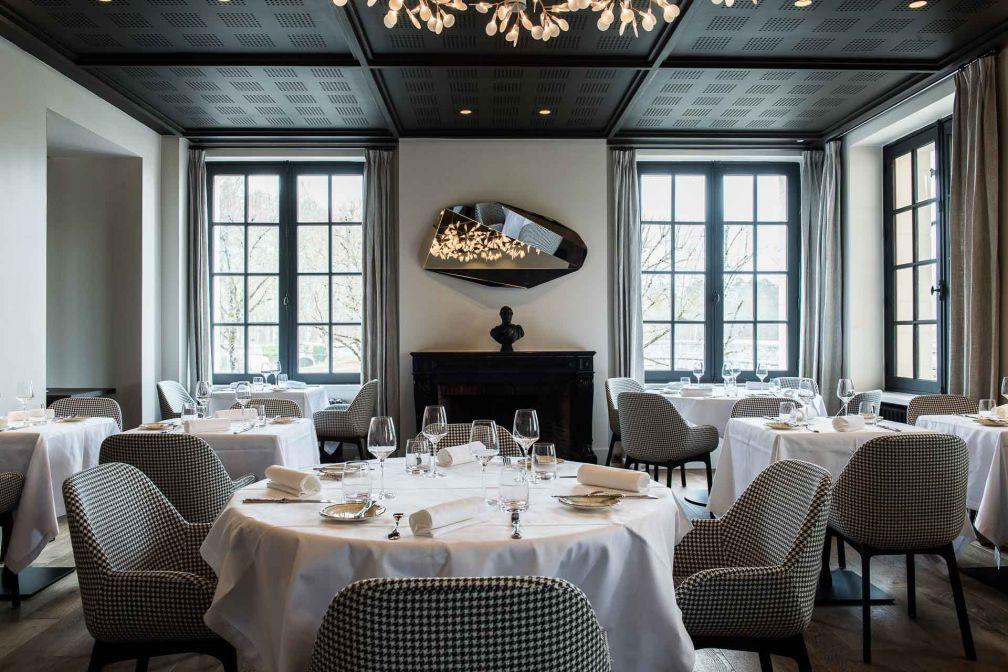 La salle à manger du restaurant Le Grand Saint Michel © Anne-Emmanuelle THION