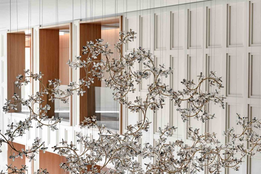 Hauteur sous plafond remarquable dans le lobby © MR. TRIPPER