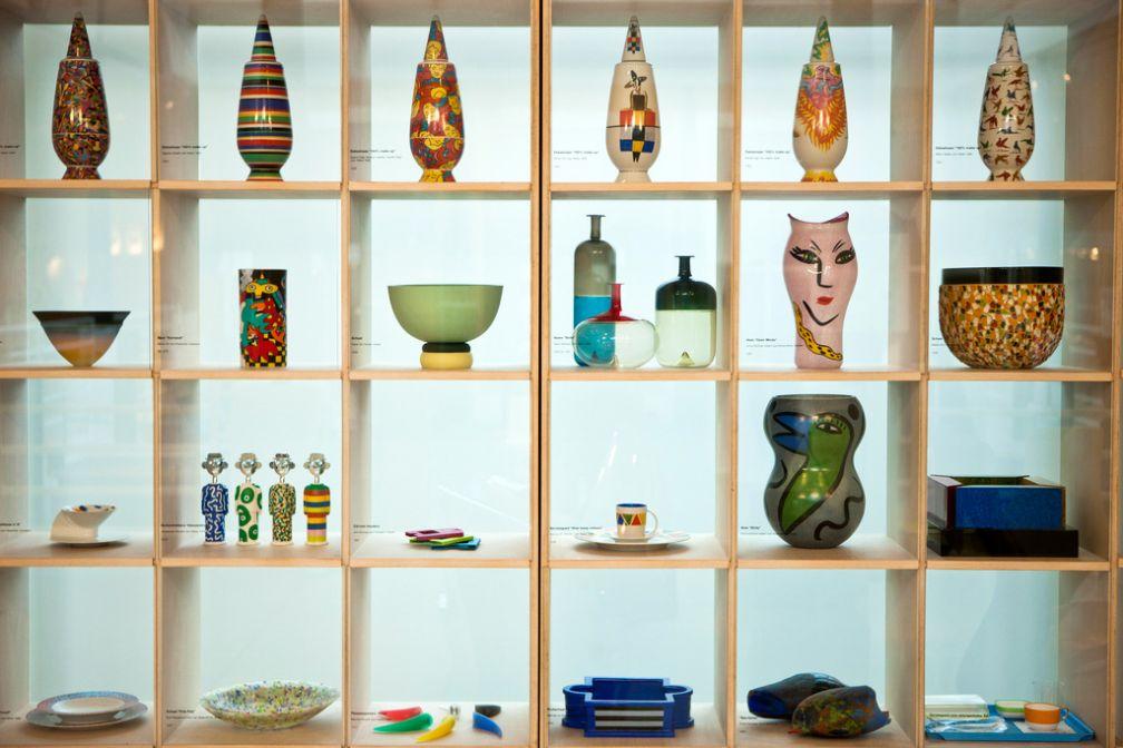 La mouvance contemporaine est bien représentée au Musée du Design © Joost Joossen / VisitFlanders